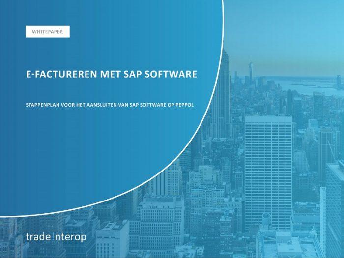 Whitepaper e-factureren met SAP